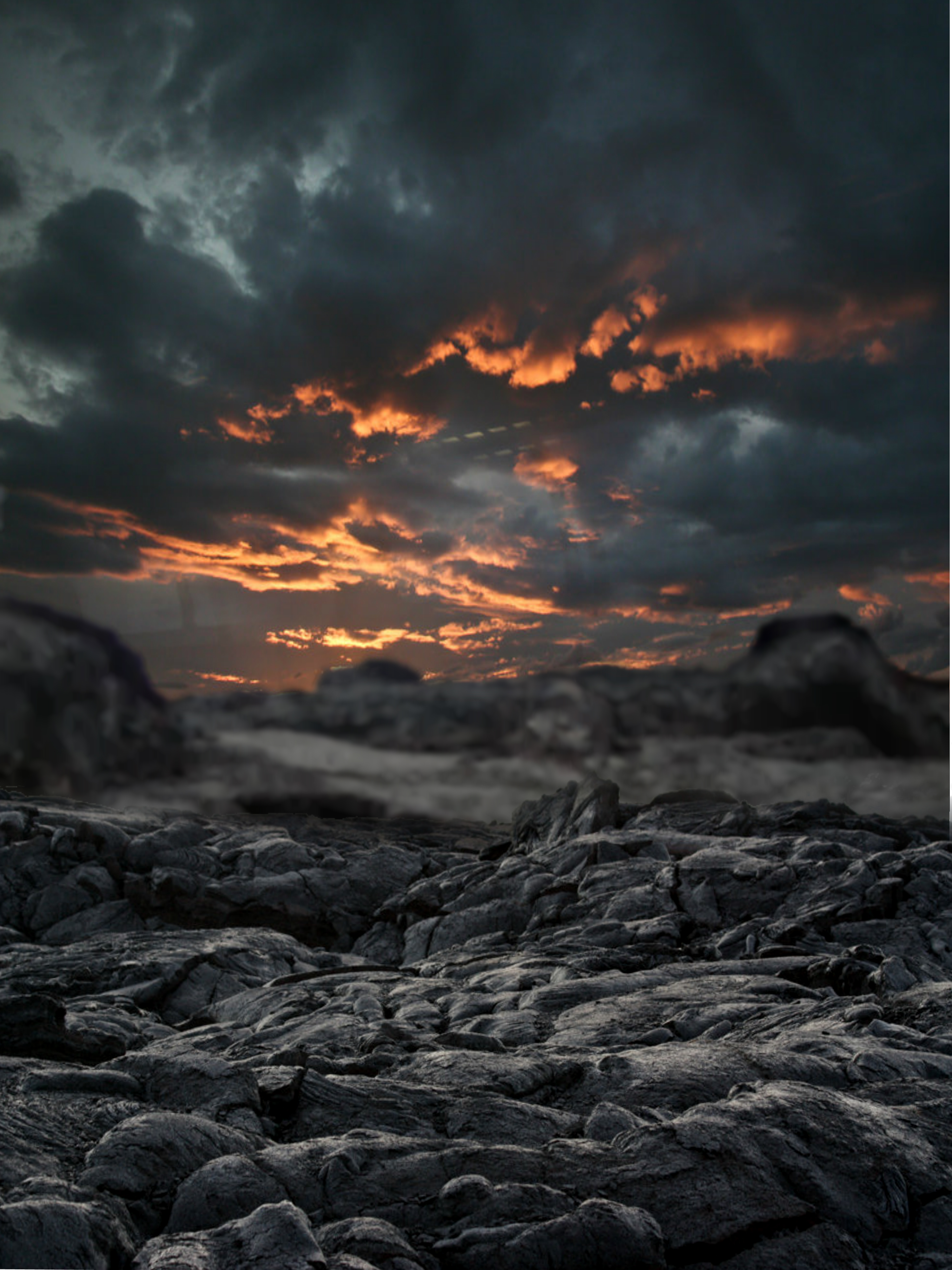 Wasteland Premade Background by DavidDarkheartKing 3000x4000