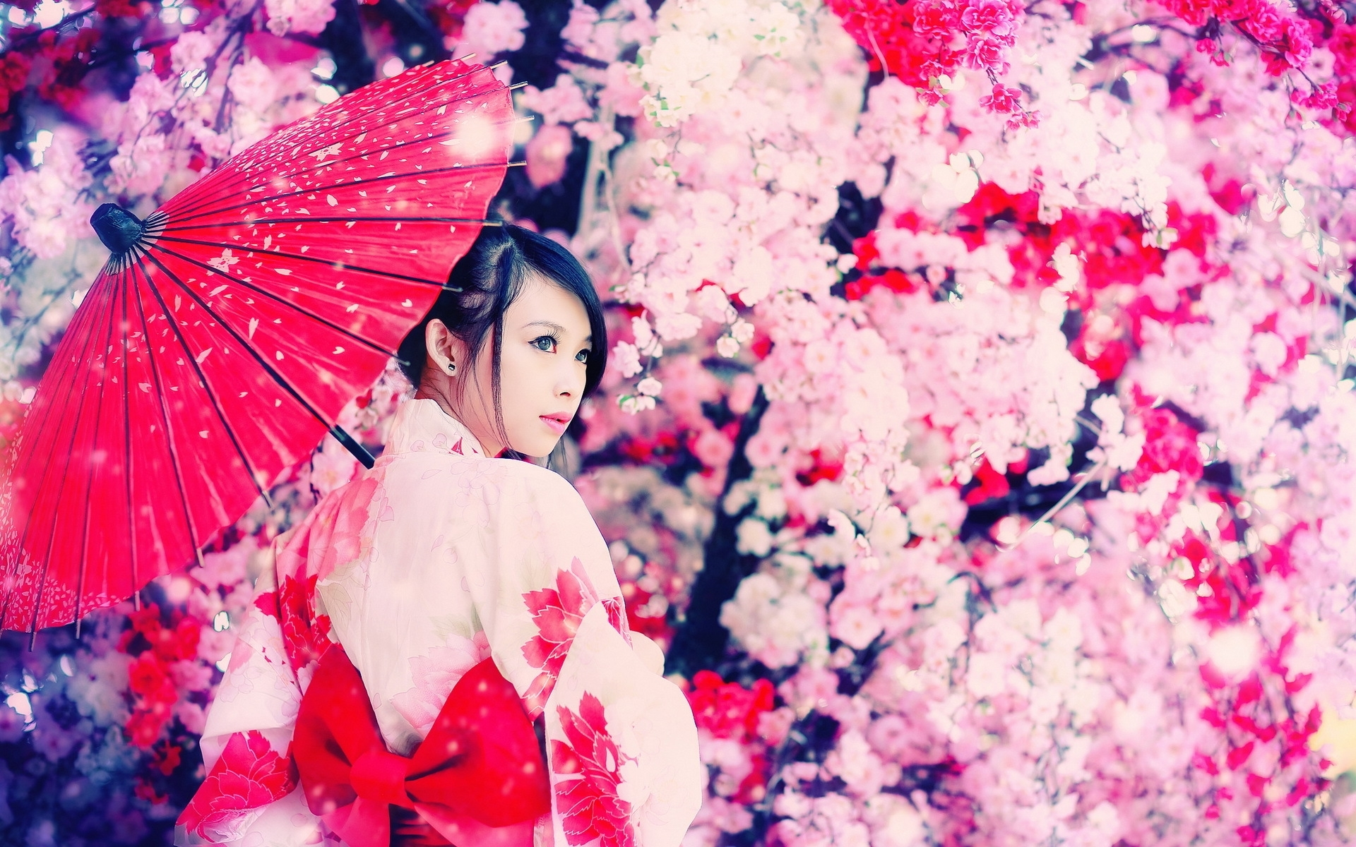 Geisha wallpaper 1920x1200