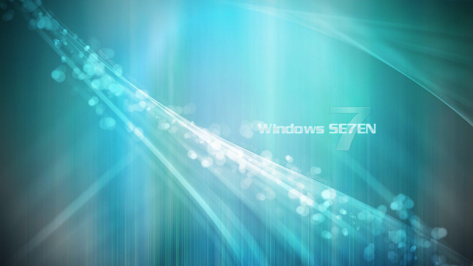 wallpaper windows se7en 1600x900 Wallpapers HD Widescreen Desktop 1600x900