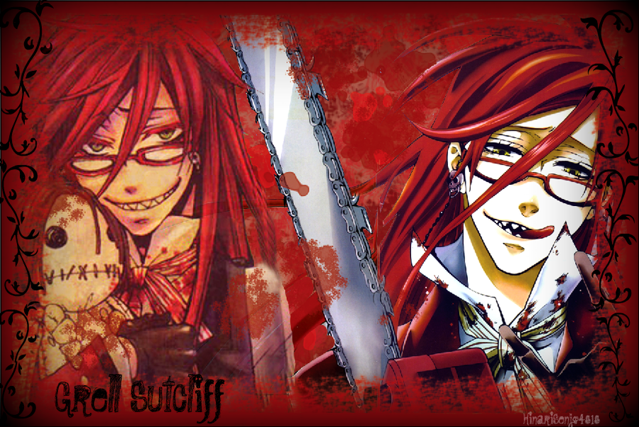 Grell Sutcliff Wallpaper by HinariSenjo4818 900x601