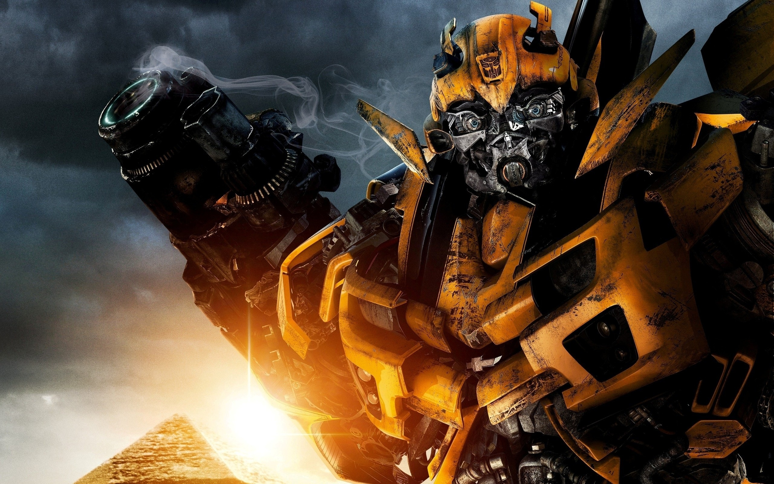 Bumblebee In Transformers 2 Wallpapers HD Wallpapers 2560x1600