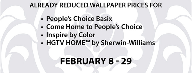 Sherwin Williams Home Wallpaper is back   save an extra 20 off 640x243