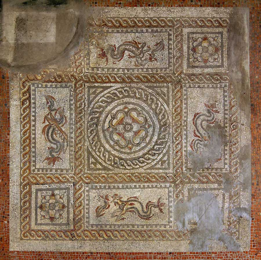 Romans in Britain Roman Mosaics