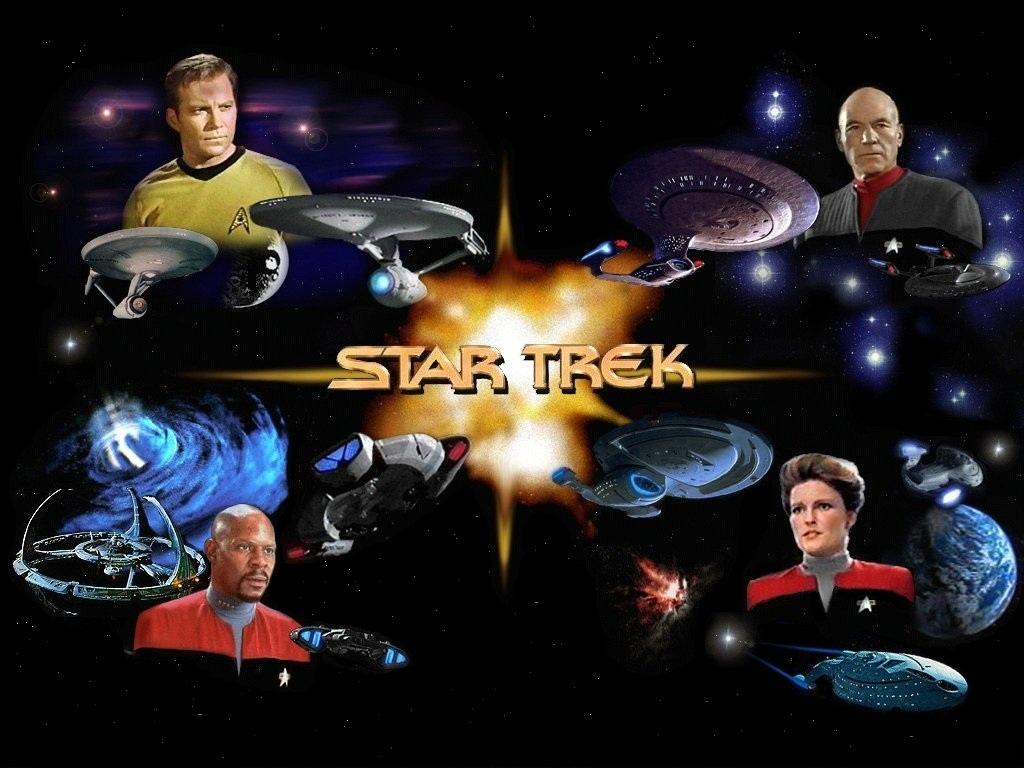 Star Trek desktop wallpaper number 1 Original Version   1024 x 768 1024x768