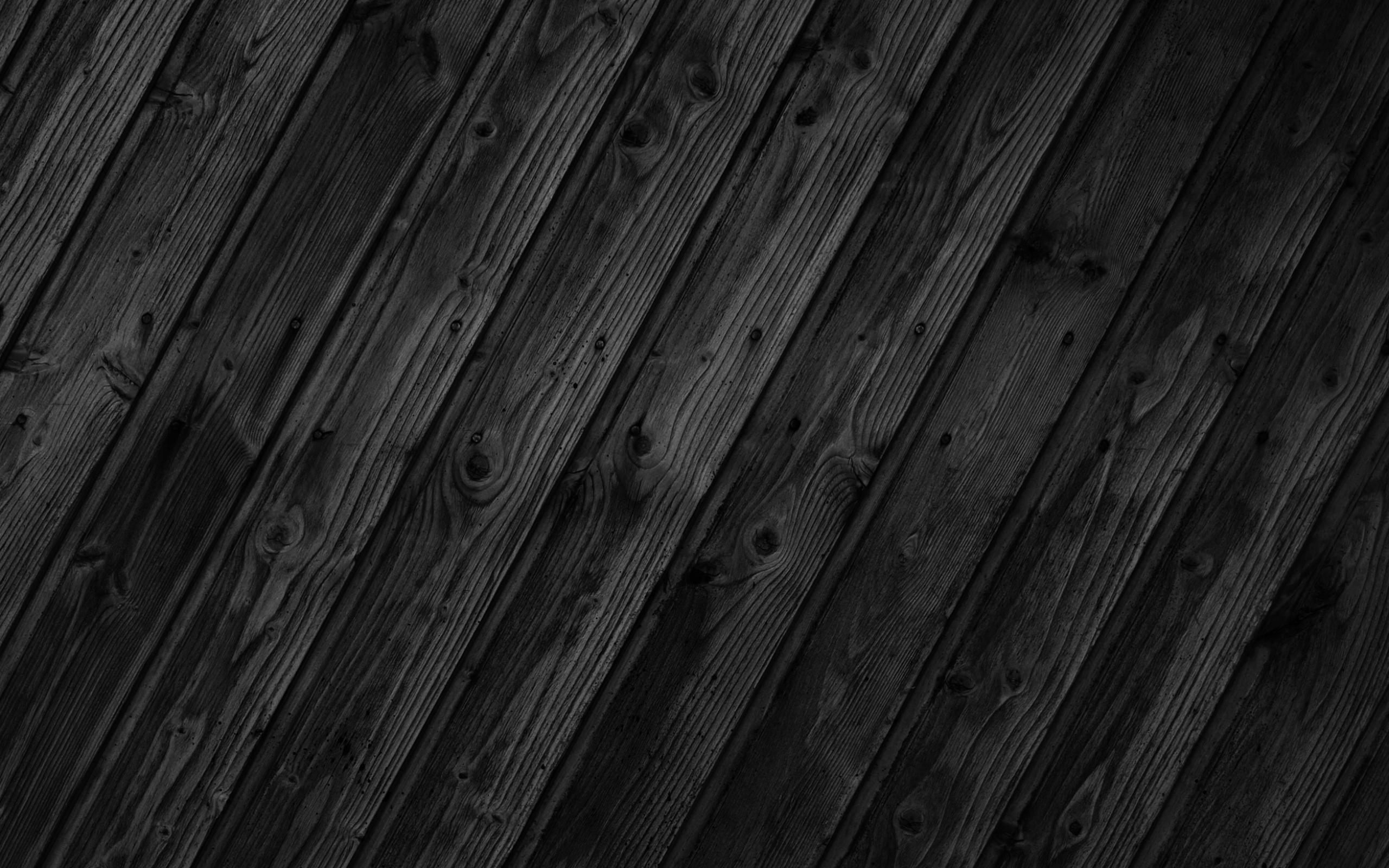 Black Wood Patterns Textures Wallpaper HD Wallpaper 2560x1600