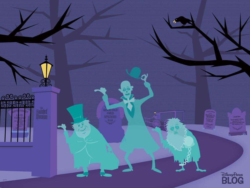 Haunted Mansion Desktop Wallpaper 1024x768
