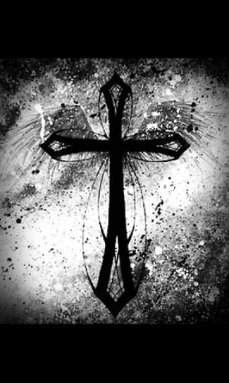 Cool Cross Wallpaper Mobile Cross and wings wallpaper 325x542