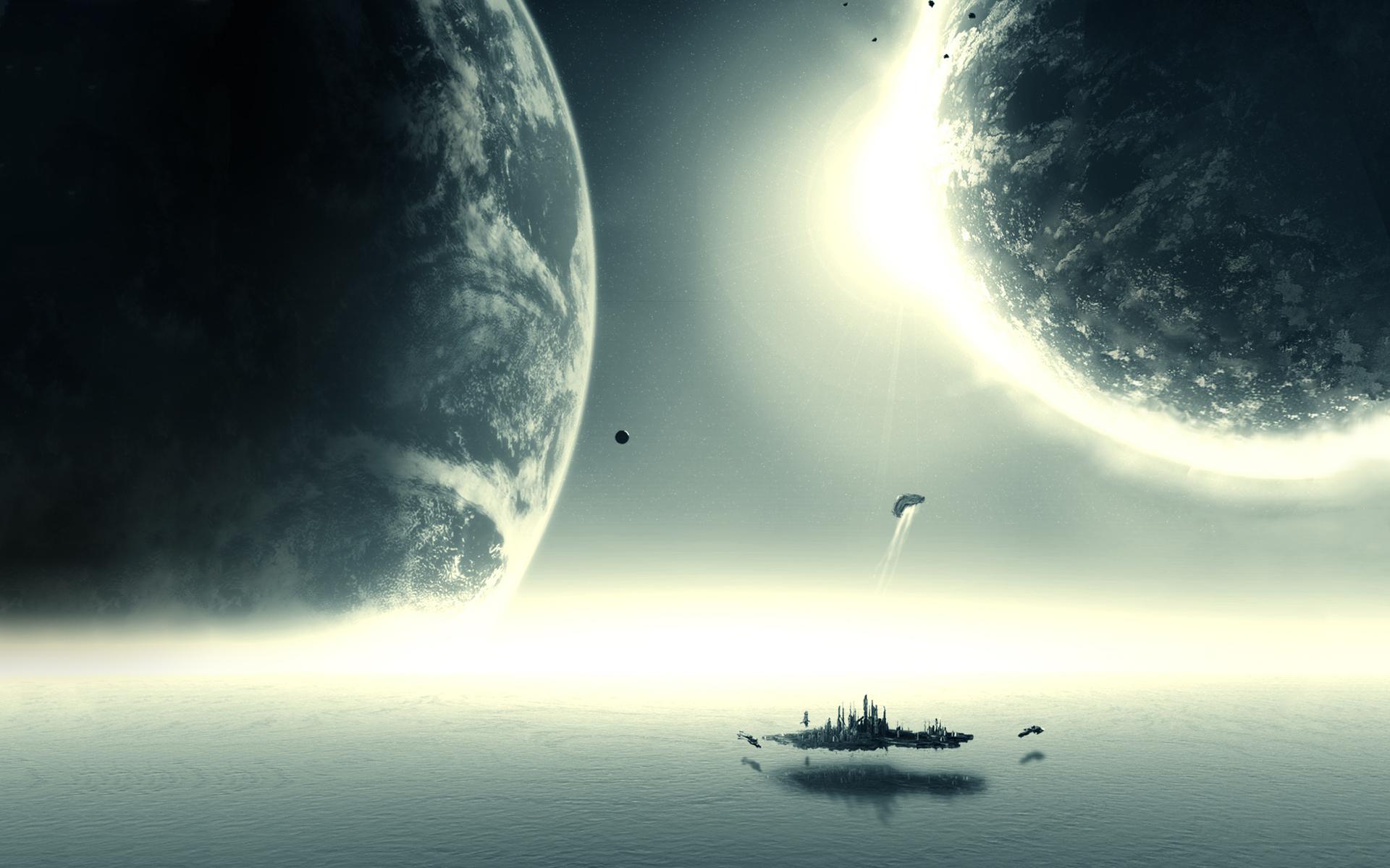 Alien Water World Planets HD Wallpapers 1920x1200