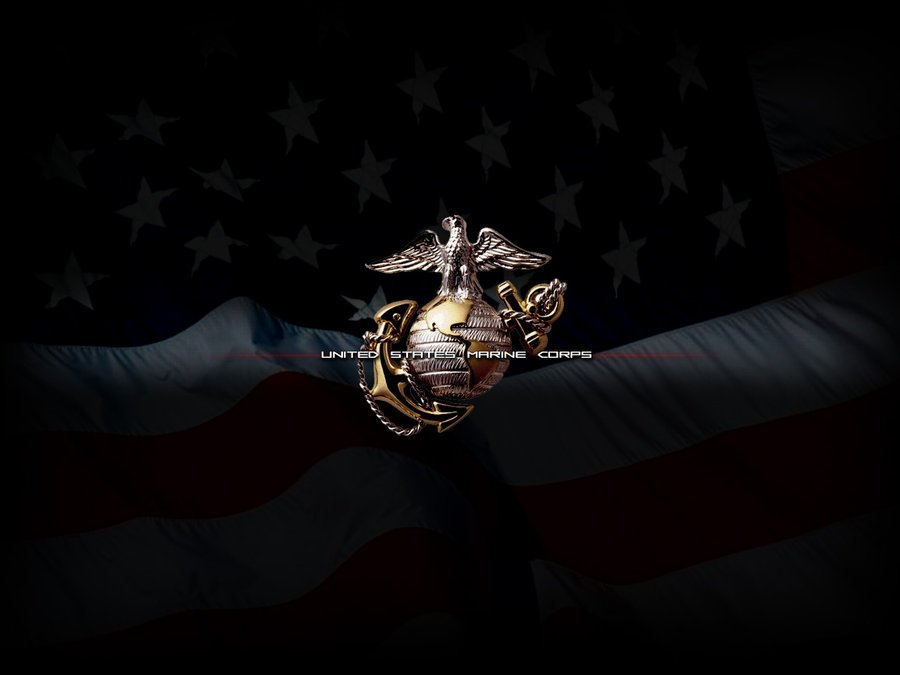 Us Marine Corps Logo Wallpaper Wallpapersafari