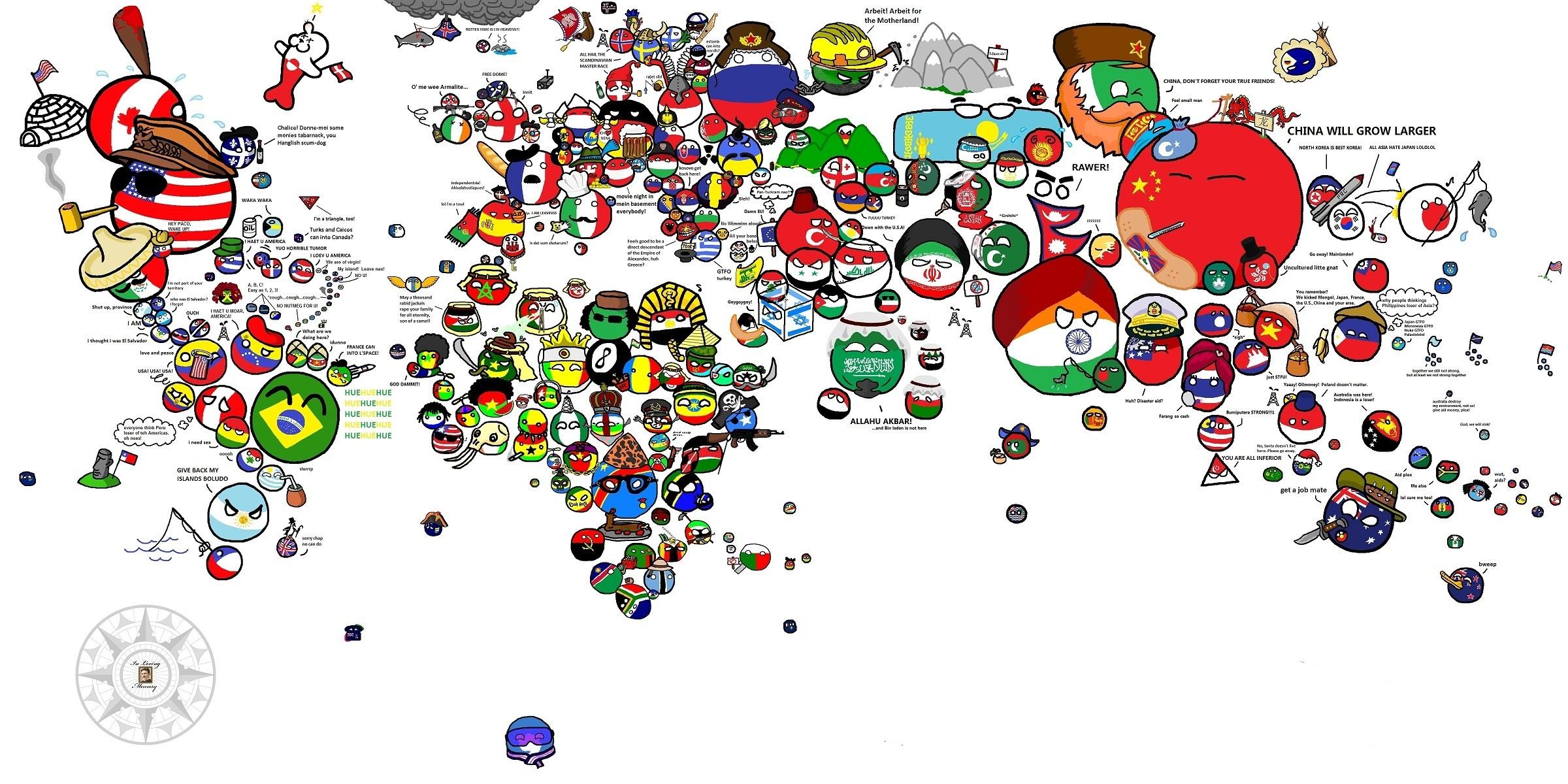 World Funny Wallpaper 2400x1200 World Funny Maps 2400x1200