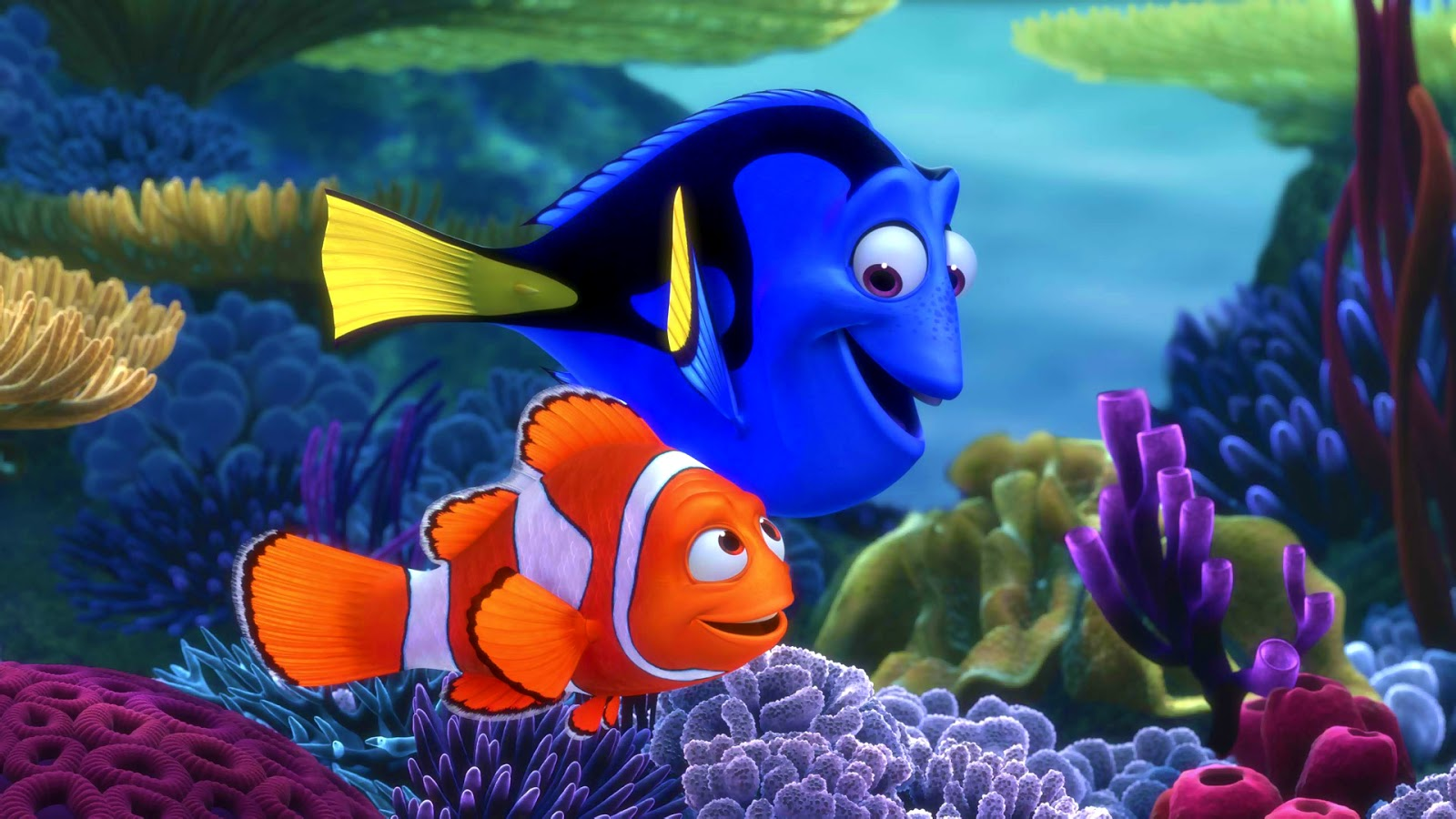 Finding Nemo 3D Wallpaper Wallpaper Mansion 1600x900