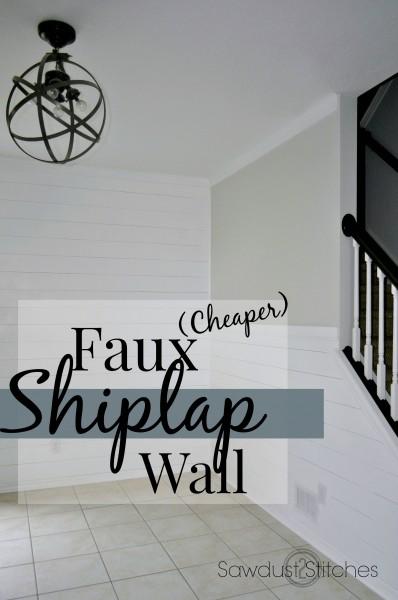 Faux Shiplap Walls   Sawdust 2 Stitches 398x600
