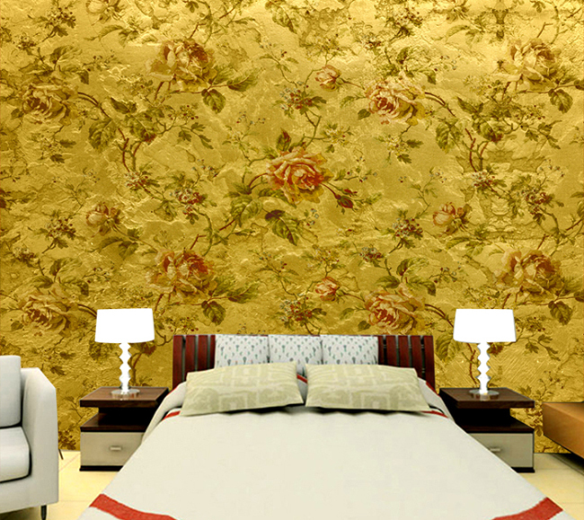 custom custom Mural wallpaper sofa background wall bedroom wall 650x579