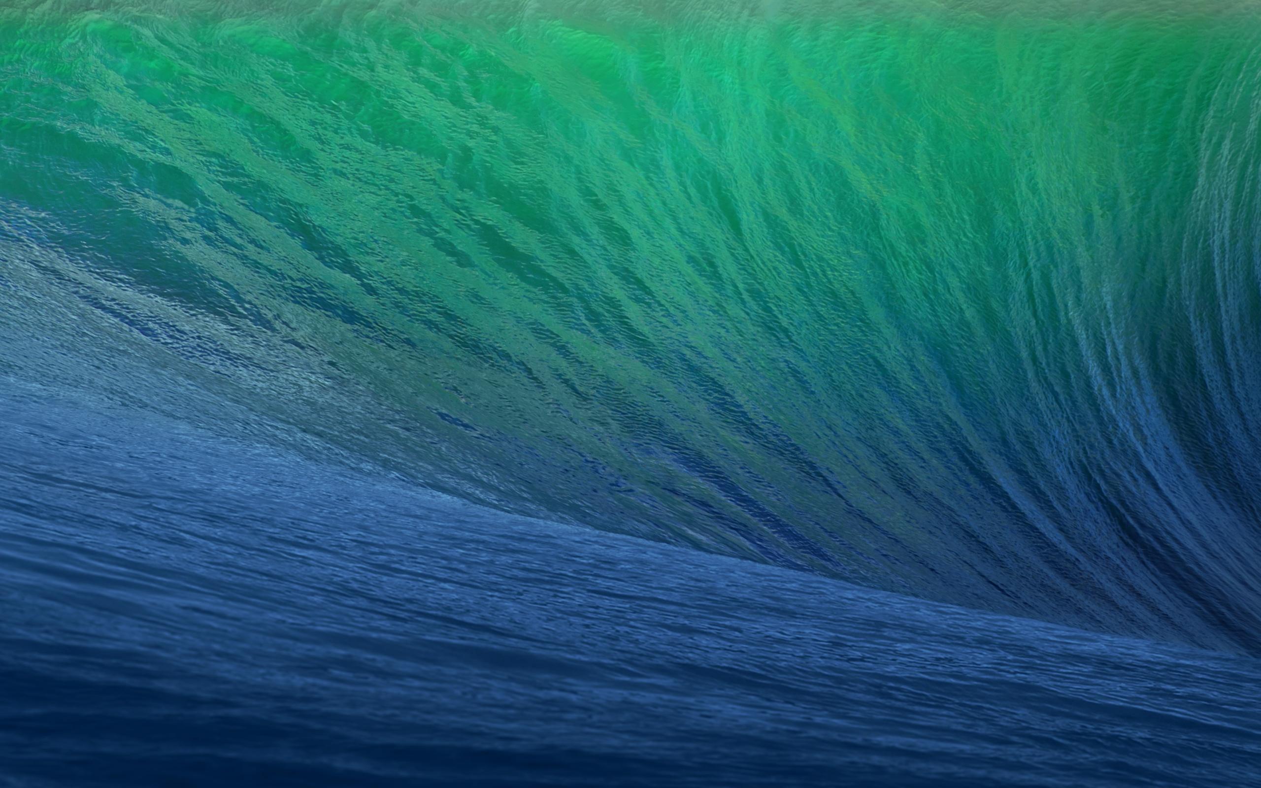 2560x1600 OS X Mavericks Wave desktop PC and Mac wallpaper 2560x1600