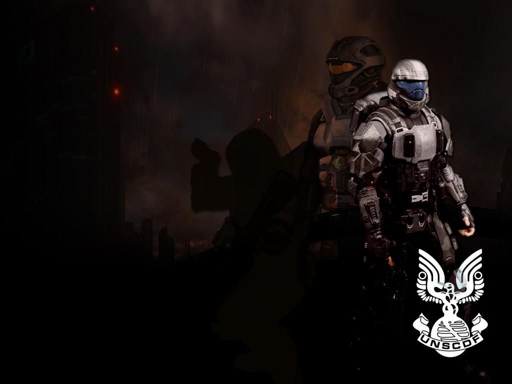 Halo Wallpaper UNSC by deiuos 1024x768