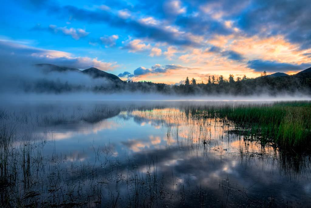 Amazoncom Connery Pond   Adirondack Sunrise near Lake Placid 1024x683