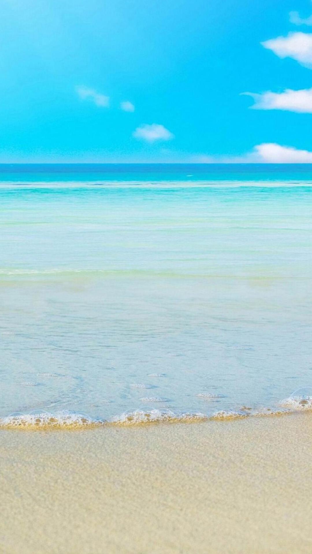 Free Download Calm Ocean Beach Htc One M8 Wallpaper Htc One M8