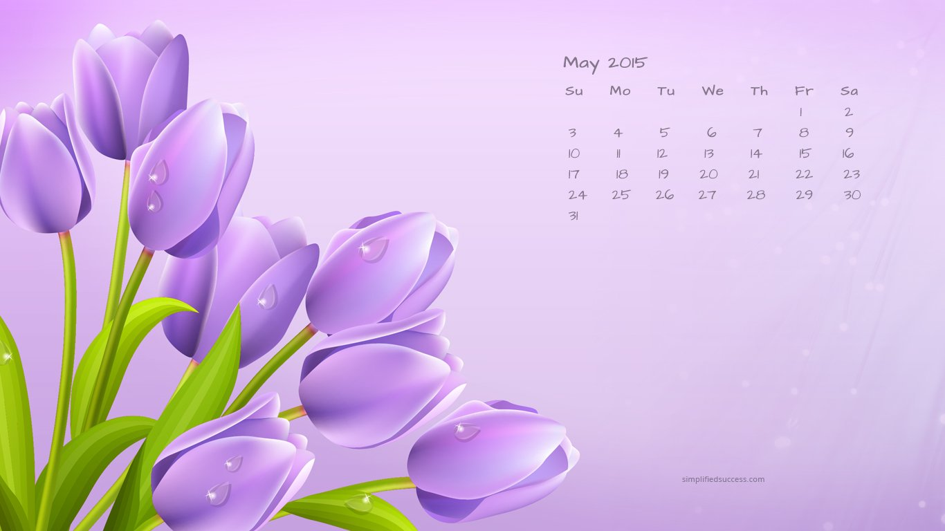 May 2015 Calendar Wallpapers HD Happy Holidays 2015 1366x768