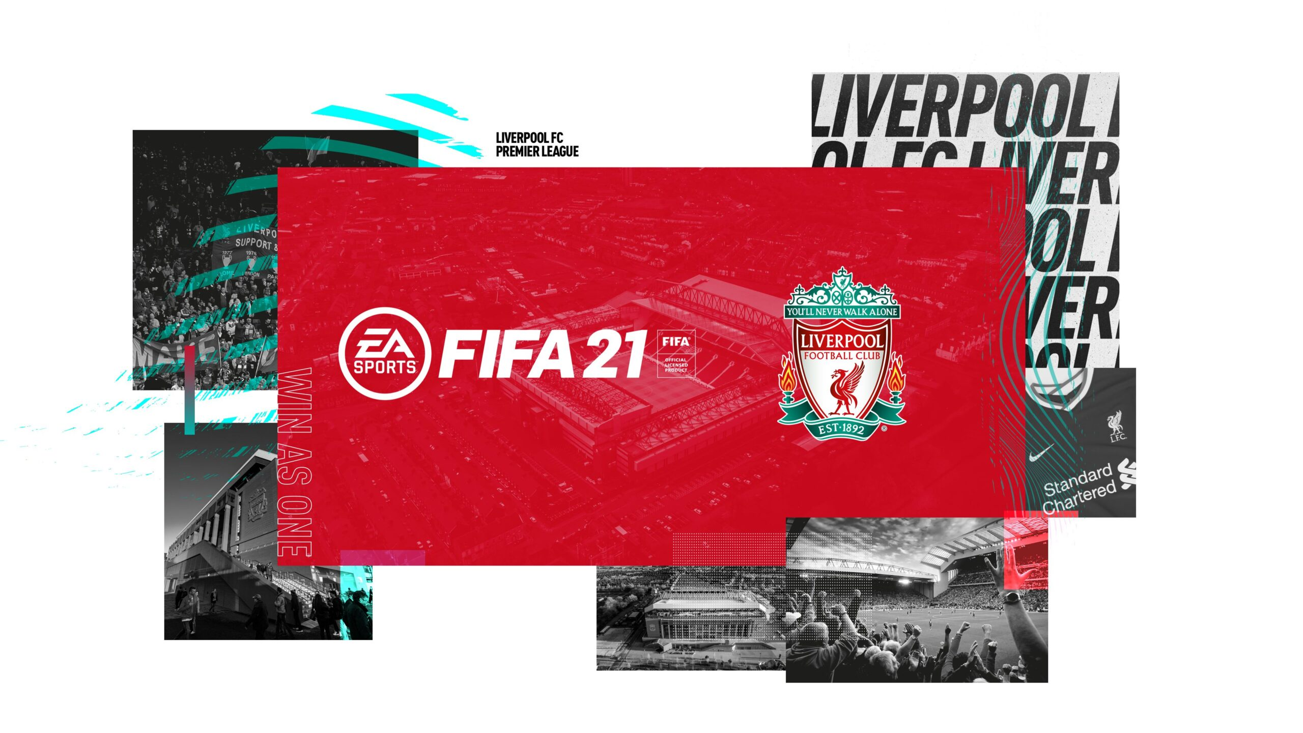 FIFA 21 Covers and Wallpapers for Premier League teams available 2560x1440