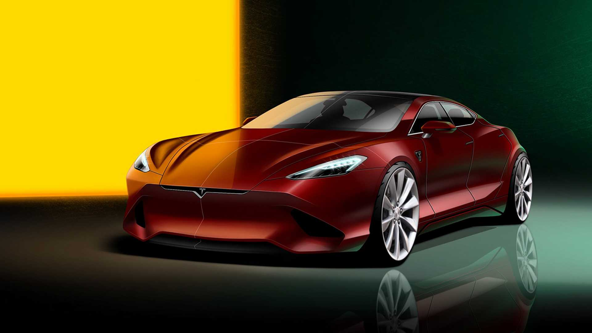Hows this for a next gen Tesla Model S redesign 1920x1080