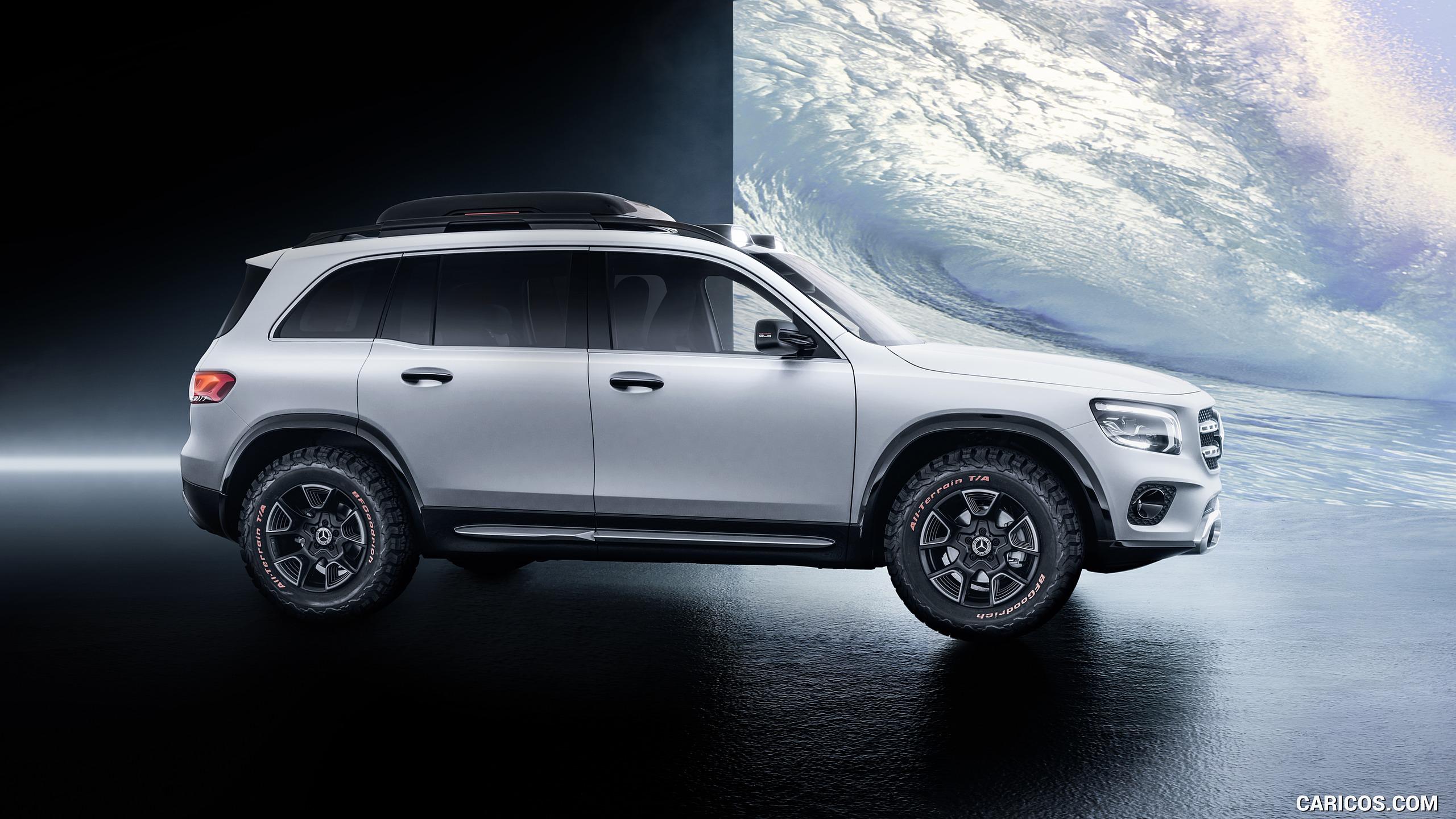 2019 Mercedes Benz GLB Concept   Side HD Wallpaper 3 2560x1440