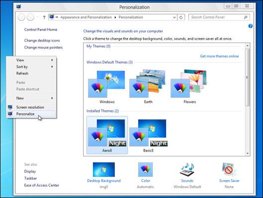 How to make windows 8 or 8. 1 look and feel like windows 7.