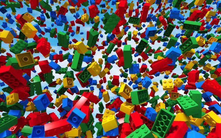 Lego Wallpaper Lego Party Inspiration Pinterest 736x460