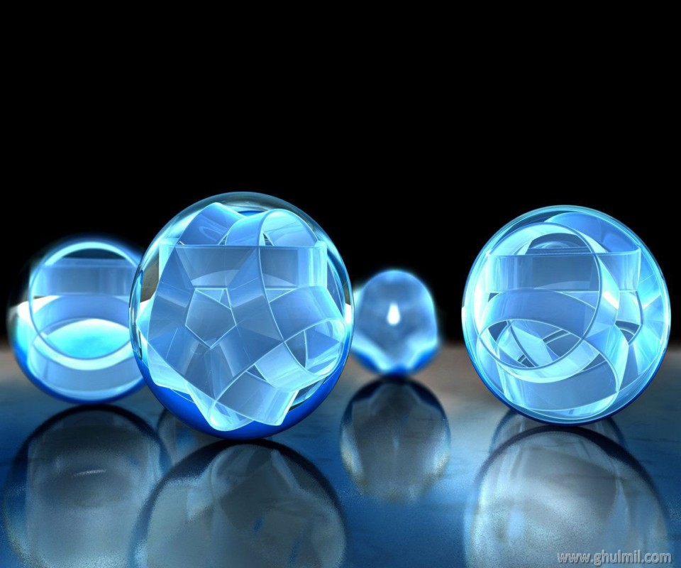 HD Cubic Balls Mobile Wallpapers 960x800