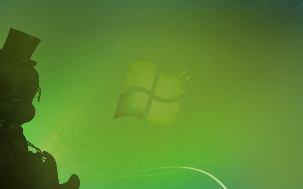 Phantom Golden Freddy in Windows 7 by ThomasTheHedgehog888 1024x640