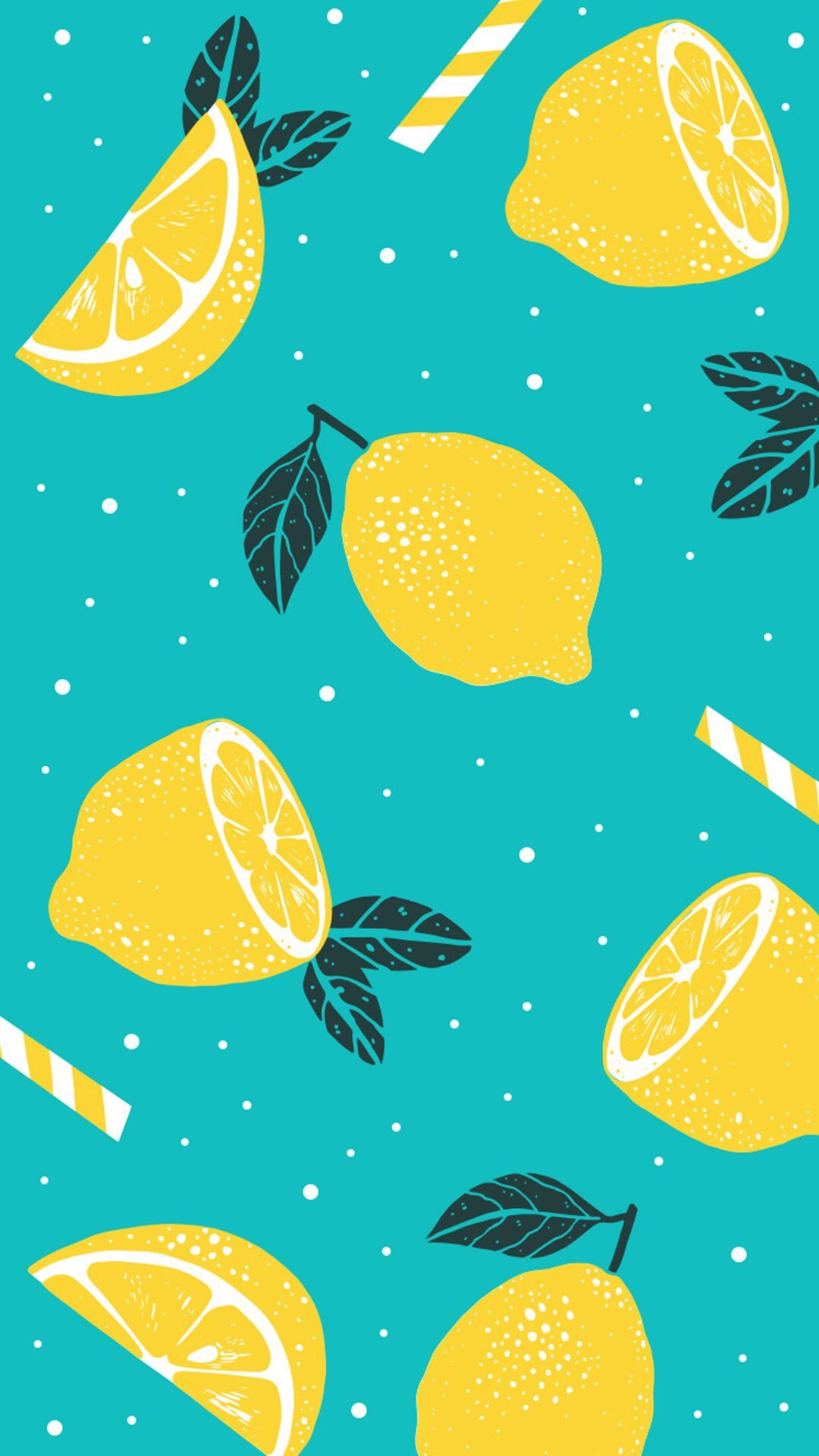 Phone Wallpaper summer lemons fruits lemonade in 2019 Summer 1080x1920
