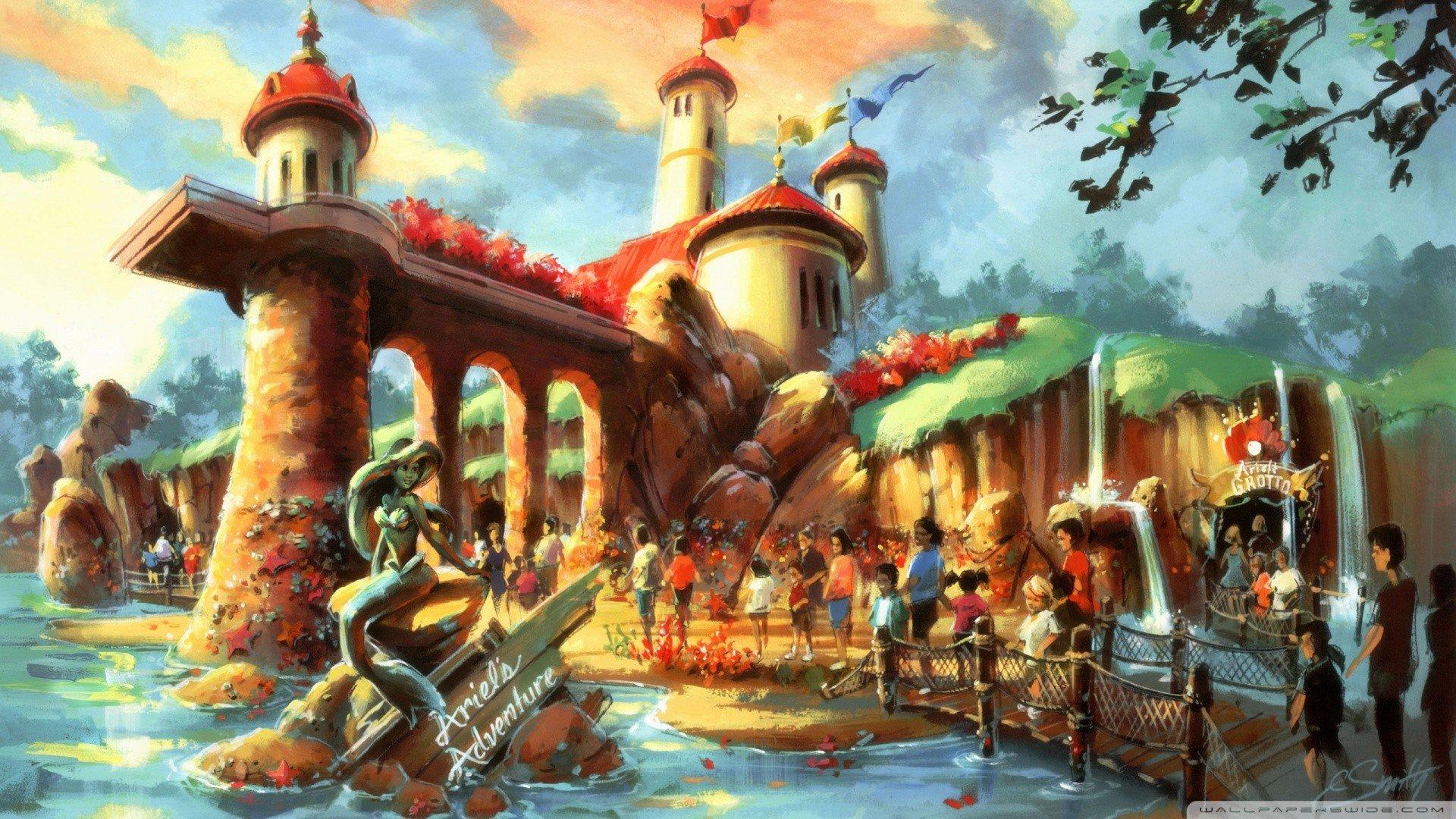 Disney Concept Art Wallpaper Wallpapersafari