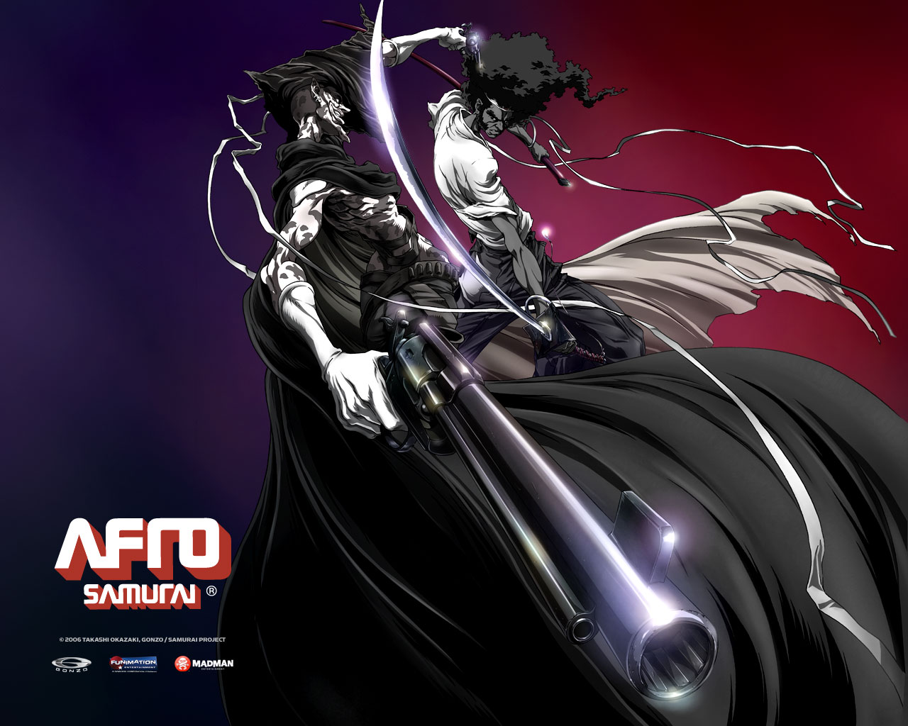 Afro Samurai Resurrection Wallpaper PicsWallpapercom 1280x1024