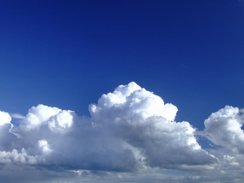 Clouds in Blue Sky Wallpaper Wallpaper ME 1024x768