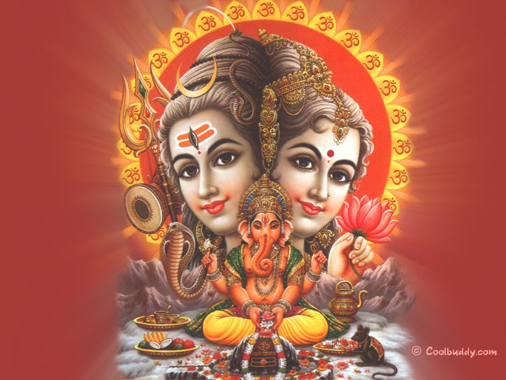 lord shiva parvati ganesha wallpapers hd