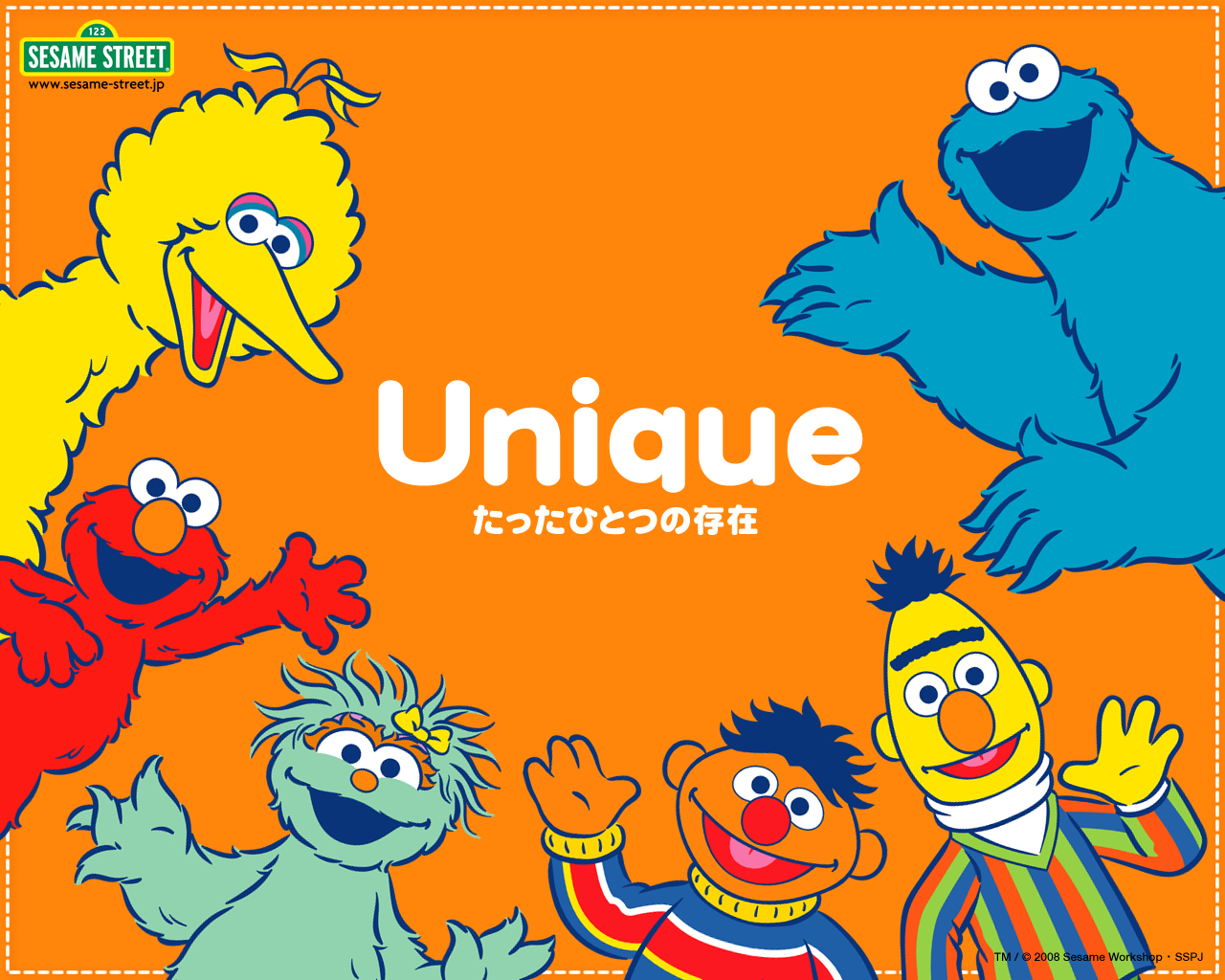 Sesame Street Wallpaper