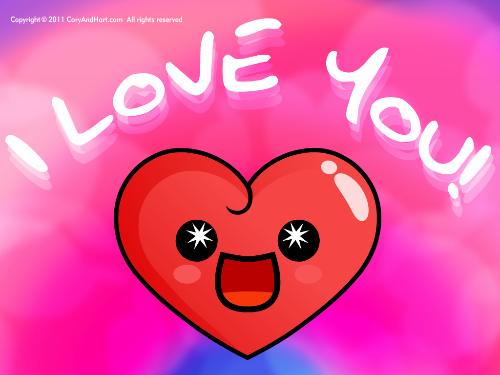Cute Hearts Wallpaper - WallpaperSafari