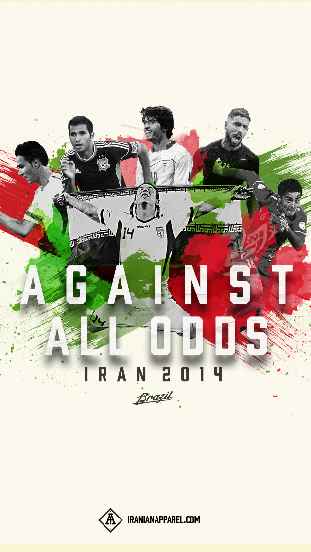 Team Melli Goodies by Iranian Apparel 640x1136
