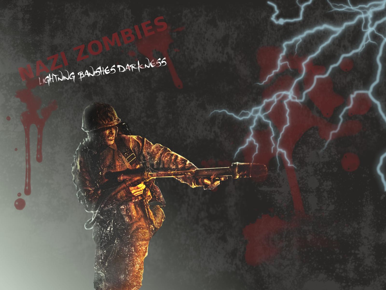 Call Of Duty Nazi Zombies Wallpaper Nazi zombies by dpmm07 1600x1200