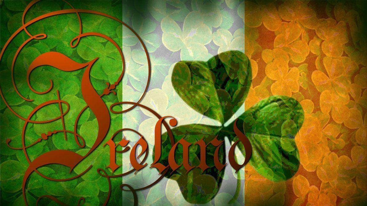 Flag of Ireland Wallpaper by grednforgesgirl on deviantART 1192x670