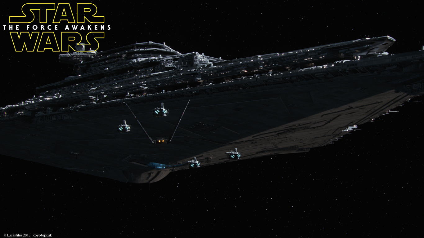 Star Wars The Force Awakens wallpaper 09 Confusions and Connections 1366x768
