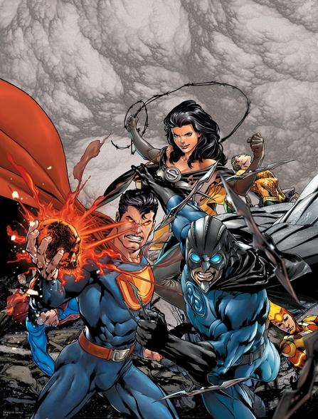 Justice league new 52 wallpaper wallpapersafari - New 52 wallpaper ...