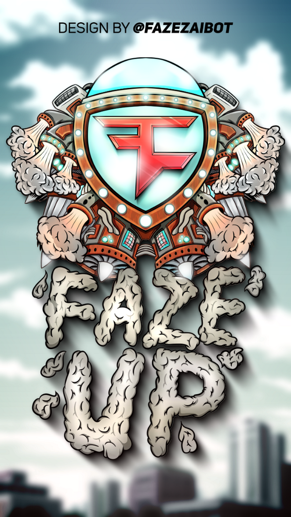 FaZe Clan on Twitter Want this iPhone wallpaper When this design by 600x1065