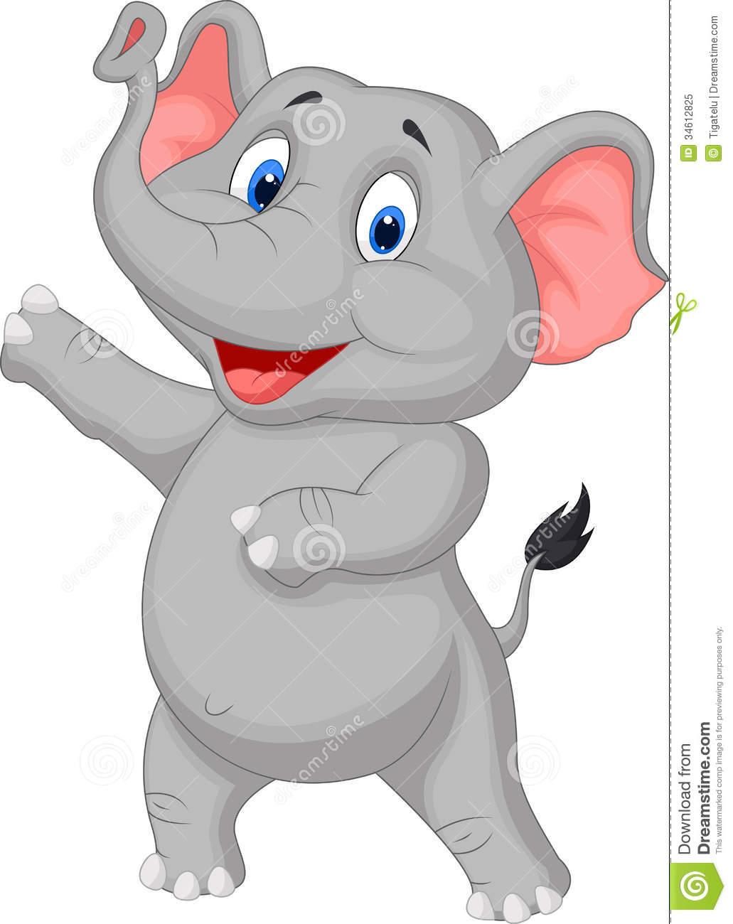 44+ Cute Cartoon Elephant Wallpaper on WallpaperSafari