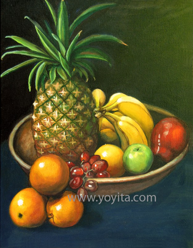 Life With Yellow Pear Oil Painting Yoyita HD Walls Find Wallpapers 625x800