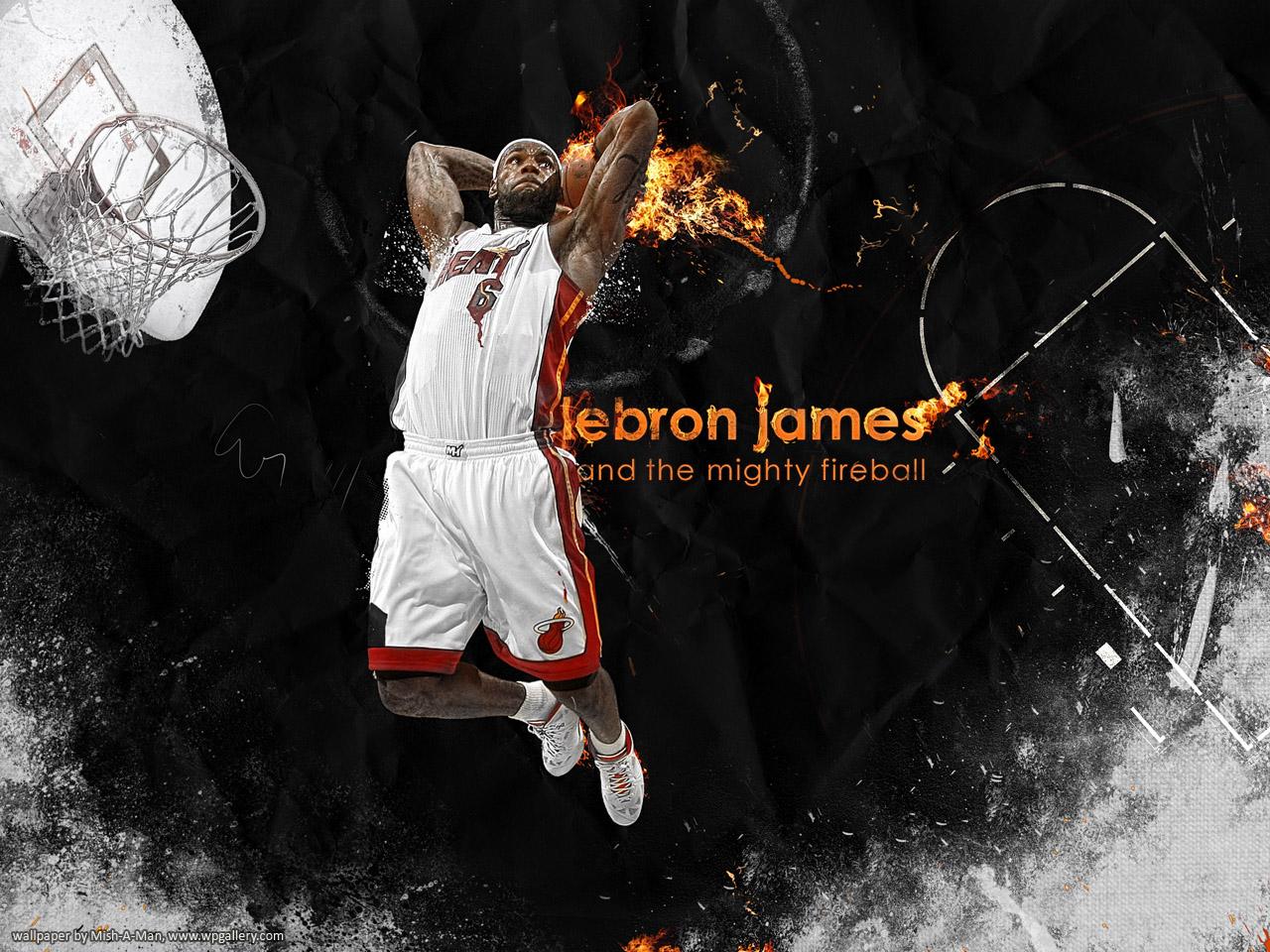View topic   LeBron James   Miami Heat   NBA Basketball Wallpaper 1280x960
