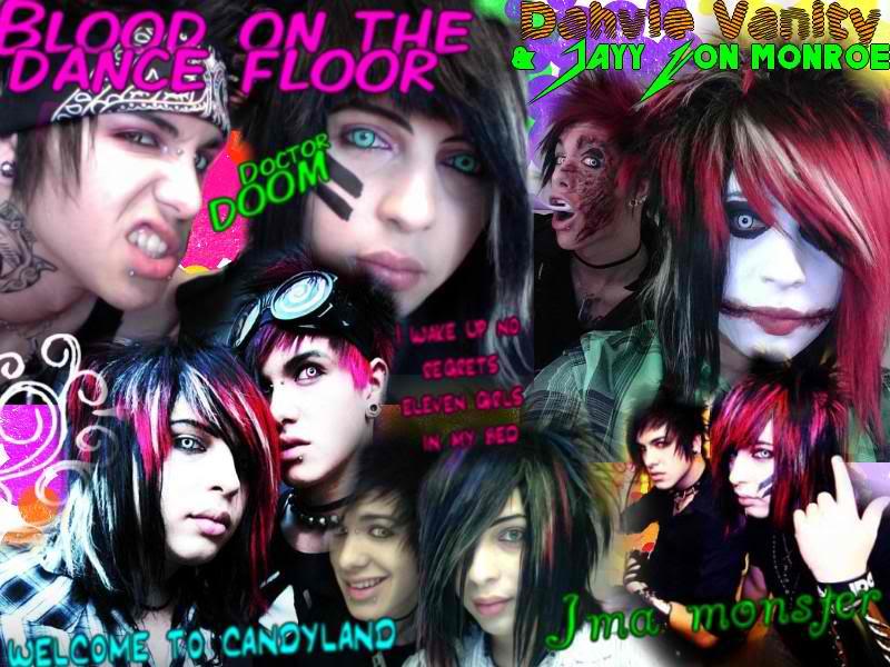 Blood on the Dance Floor   Musicians in Makeup Wallpaper 800x600