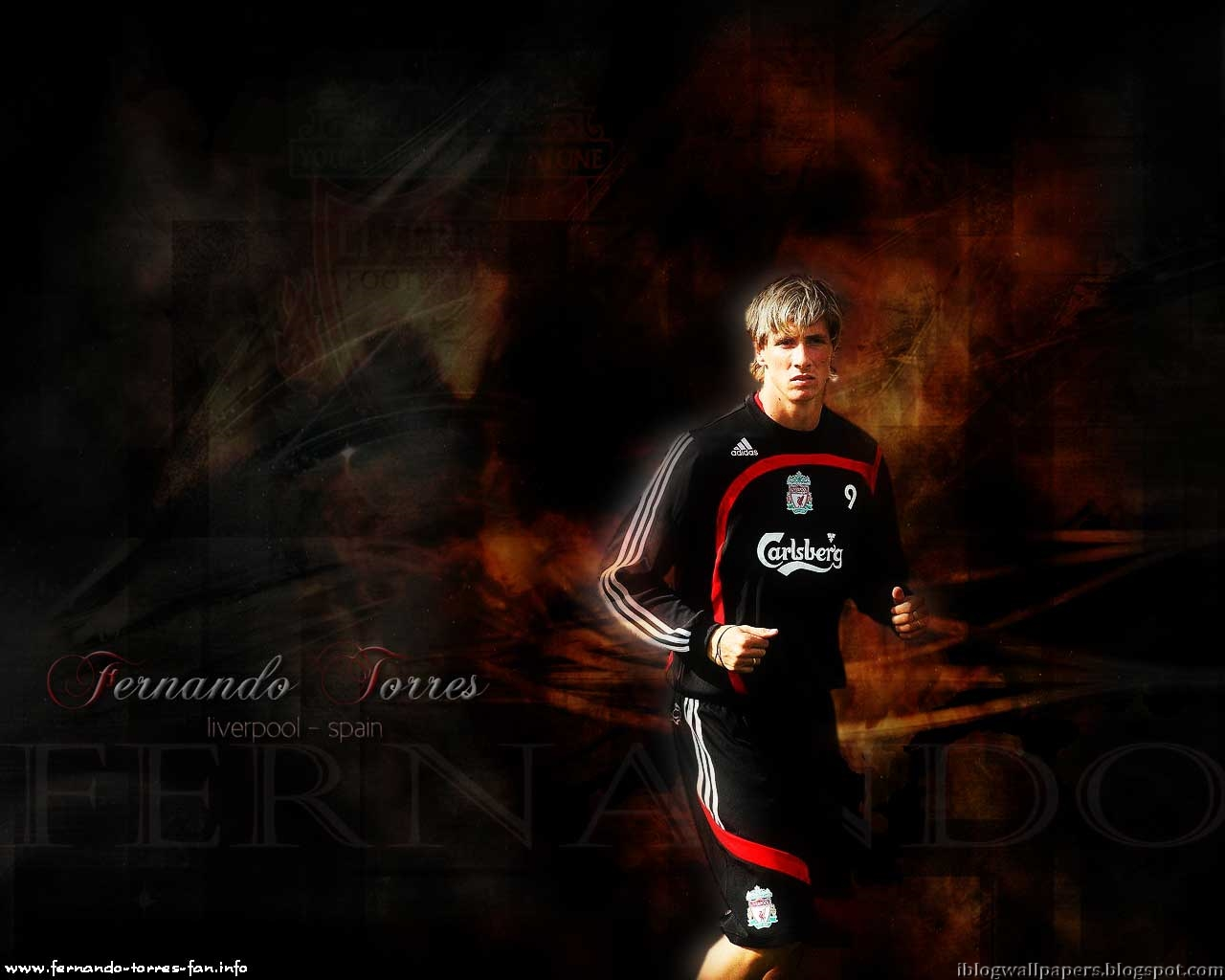 Fernando Torres Liverpool Wallpaper HD Download Wallpaper 1280x1024