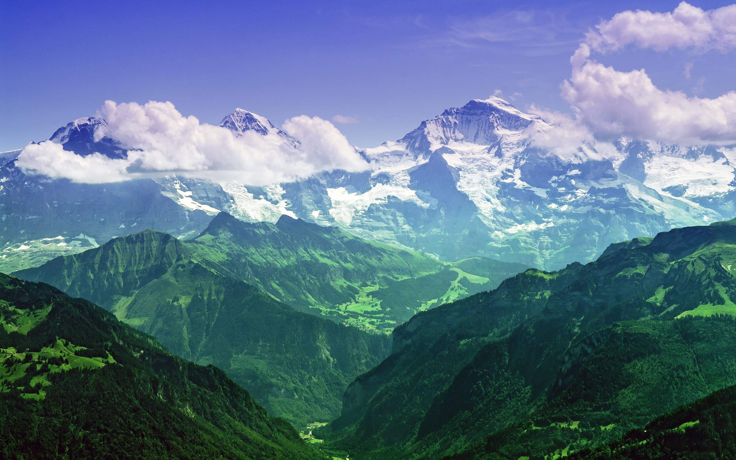 The Mighty Jungfrau   Burmese Alps [2560x1600] by Unkown EarthPorn 2560x1600