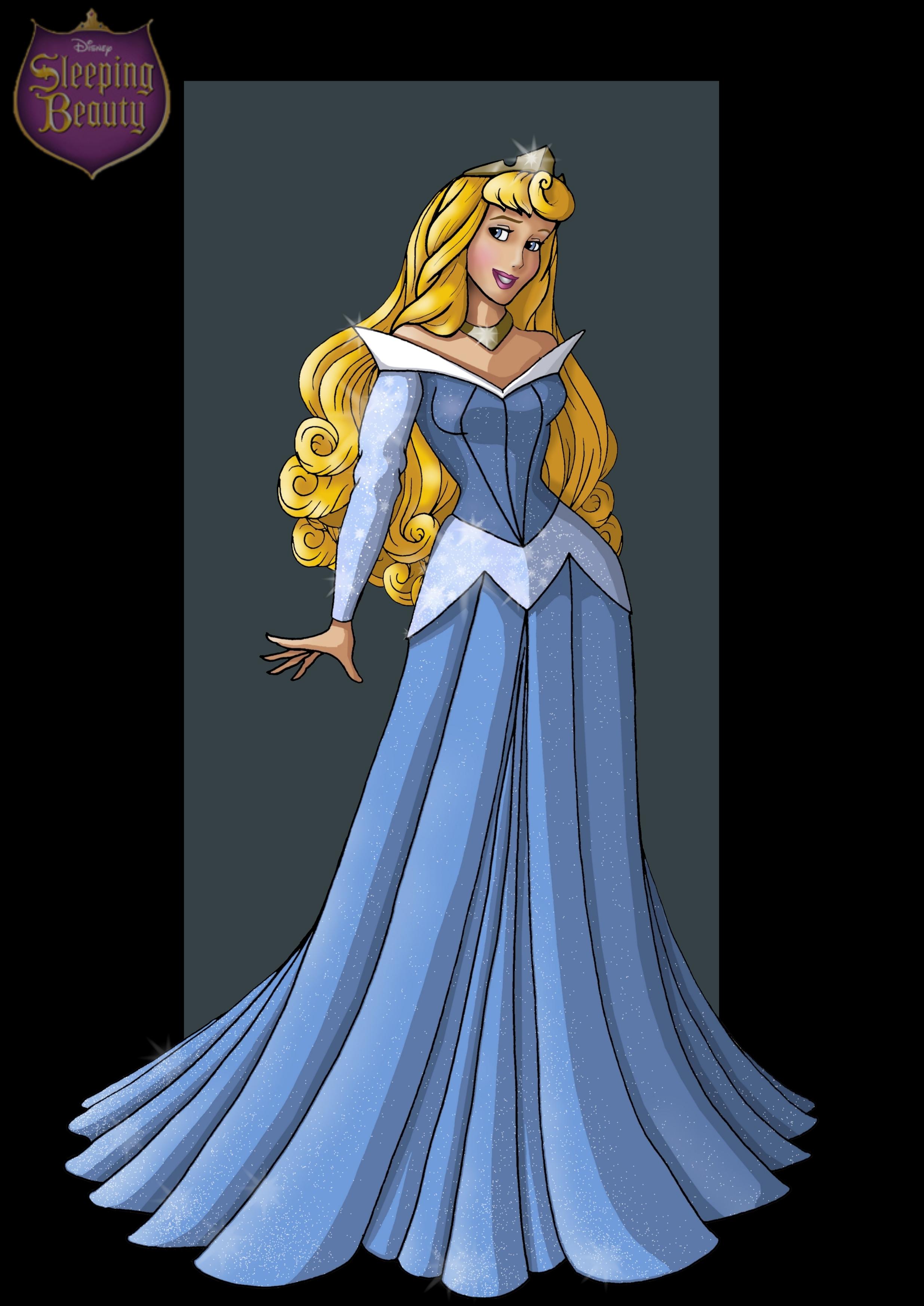 Sleeping Beauty Blue Cartoon Widescreen Background Image for 2471x3490