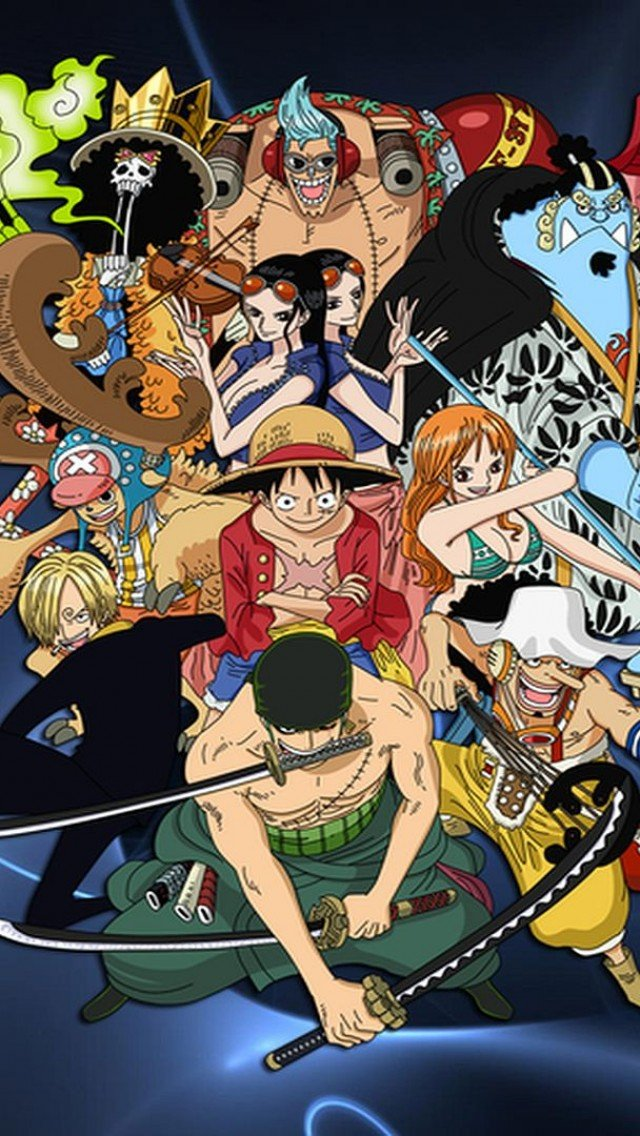 74+] One Piece Phone Wallpaper on